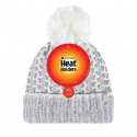 Dámska zimná čiapka HEAT HOLDERS-Dámska čiapka LUND HH s perovým pletením šedá -