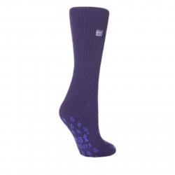 Dámske ponožky HEAT HOLDERS-Dámske ponožky protišmykové levanduľová