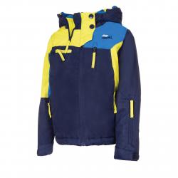 Chlapčenská lyžiarska bunda AUTHORITY-RANDALL B dk blue