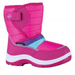 Dívčí zimní obuv vysoká SLOBBY-Ado pink c946dafe589