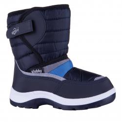 Chlapecká zimní obuv vysoká SLOBBY-Ado blue 0a4a232826e
