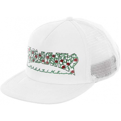Pánska šiltovka THRASHER-Rose Mesh Hat WHITE