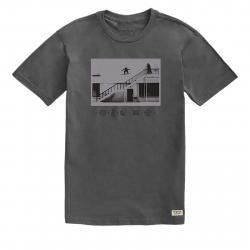 Tričko s krátkym rukávom BURTON-MB MAKE TRACKS SS CASTLEROCK