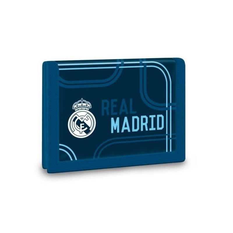 Peňaženka REAL MADRID RMA BL/WH Peňaženka 247 MIR - Peňaženka značky Real Madrid vo farbách futbalového klubu.