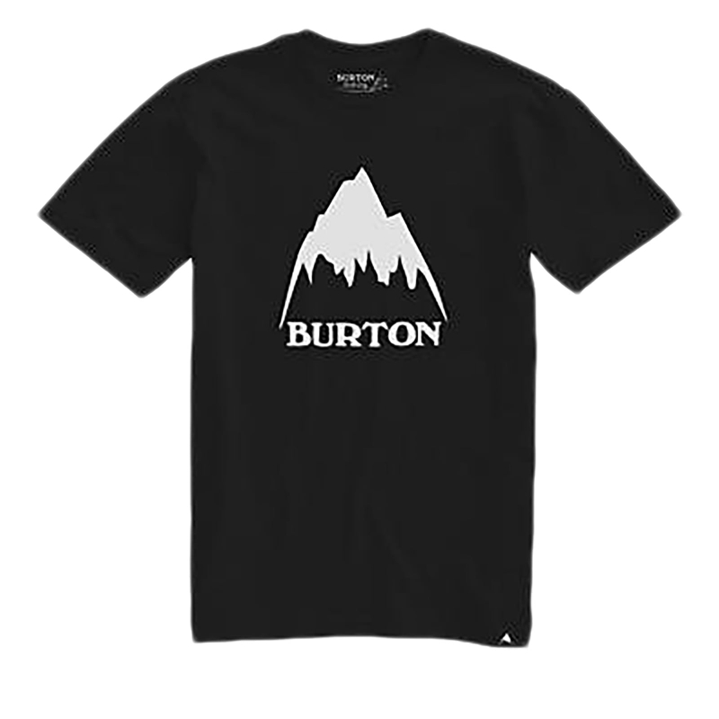 Tričko s krátkym rukávom BURTON-MB CLSSMTNHGH SS TRUE BLACK -