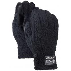 Pánske rukavice BURTON-STOVEPIPE FLC GLV TRUE BLACK HEATHER