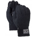 Pánske rukavice BURTON-STOVEPIPE FLC GLV TRUE BLACK HEATHER -