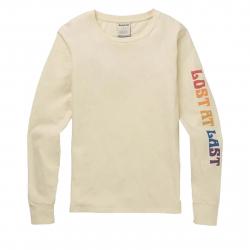 Dámske tričko s dlhým rukávom BURTON-WB GASSER LS CANVAS