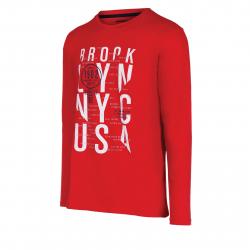 Pánske tričko s dlhým rukávom AUTHORITY-TAREKON red