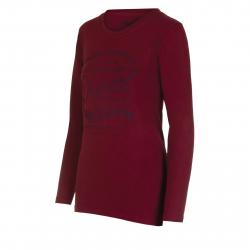 Dámske tričko s dlhým rukávom AUTHORITY-TAREKONA II red