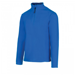 Pánska lyžiarska flisová mikina AUTHORITY-FEXINO blue