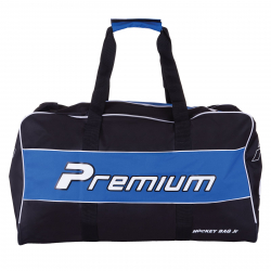 Hokejová taška PALLAS Junior PREMIUM Black/Blue MMS