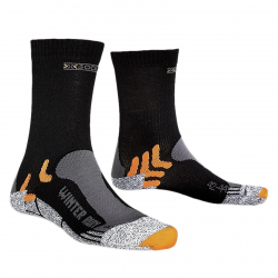 Bežecké ponožky X-SOCKS-Winter Run black