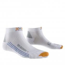 Dámske bežecké ponožky X-SOCKS-Discovery Lady New W000 white