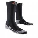 Turistické ponožky X-SOCKS-Trekking Light Mid Calf black/melange -