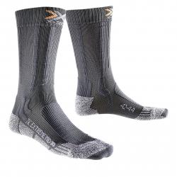 Turistické ponožky X-SOCKS-Trekking Extreme Light Mid Calf anthracite/grey moulline