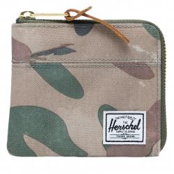 Peňaženka HERSCHEL-JOHNNY++ 600D POLY BSTRK CAMO
