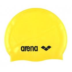 Plavecká čiapka ARENA Clasic Silicone Cap - žlutá-černá