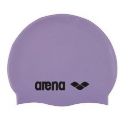 Plavecká čiapka ARENA Clasic Silicone Cap - fialová-černá