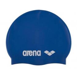Juniorská plavecká čiapka ARENA-Clasic Silicone Jr. blue-white
