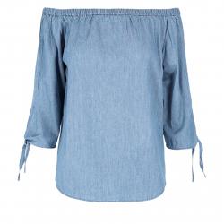 Dámska košeľa s dlhým rukávom VOLCANO-K-SUEN
