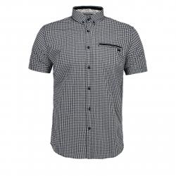 Pánska košeľa s krátkym rukávom VOLCANO-K-AYAN