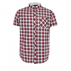 Pánska košeľa s krátkym rukávom VOLCANO-K-TONY