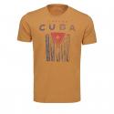 Pánske tričko s krátkym rukávom VOLCANO-T-CUBAN -