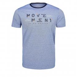 Pánske tričko s krátkym rukávom VOLCANO-T-MOVE Blue