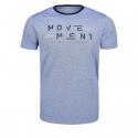 Pánske tričko s krátkym rukávom VOLCANO-T-MOVE Blue -