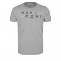 Pánske tričko s krátkym rukávom VOLCANO-T-MOVE Grey -