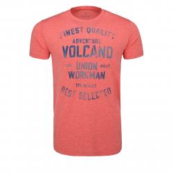 Pánske tričko s krátkym rukávom VOLCANO-T-NESTY