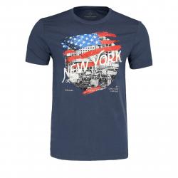 Pánske tričko s krátkym rukávom VOLCANO-T-RING