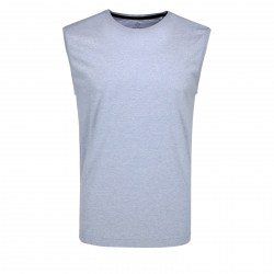 Pánske tričko bez rukávov VOLCANO-T-TANK Blue