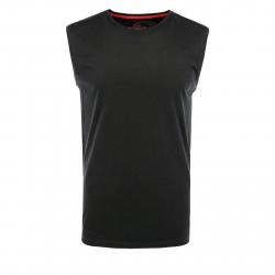 Pánske tričko bez rukávov VOLCANO-T-TANK Black