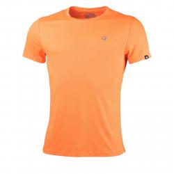 Pánske bežecké tričko s krátkym rukávom NORTHFINDER-TWQNY-orange