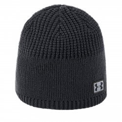 Pánska zimná čiapka UNDER ARMOUR-Men Golf Knit Beanie Black