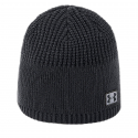 Pánska zimná čiapka UNDER ARMOUR-Men Golf Knit Beanie Black -