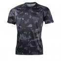 Pánske bežecké tričko s krátkym rukávom NORTHFINDER-RAPHAEL-blackprint -