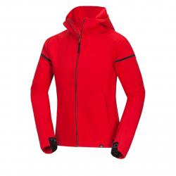 Pánska turistická softshellová bunda NORTHFINDER-FRANK-red