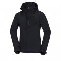 Pánska turistická softshellová bunda NORTHFINDER-EMANUEL-black -