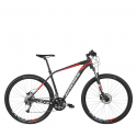 Horský bicykel KROSS-LEVEL 3.0 - bla_red_whi -