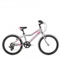 Dievčenský bicykel KROSS-KR_Lea Mini 1.0 - sil_pin