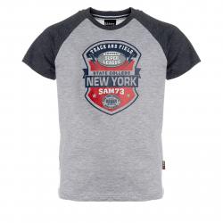 Chlapčenské tričko s krátkym rukávom SAM73-Chlapčenské tričko s krátkým rukávom-401