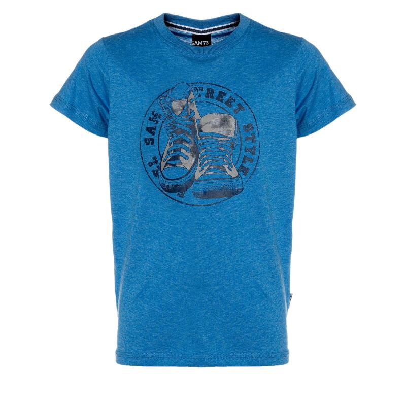 Chlapčenské tričko s krátkym rukávom SAM73-Chlapčenské tričko s krátkým rukávom-524-220 -