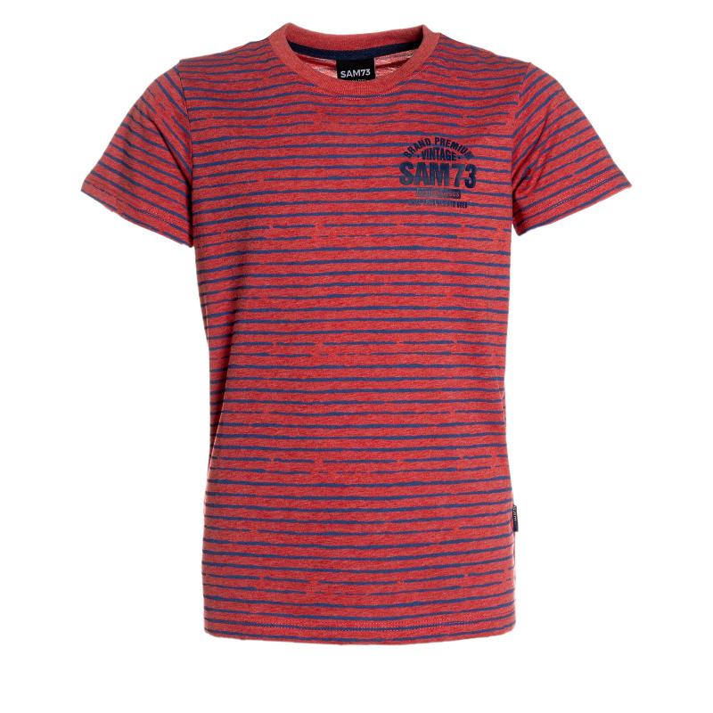 Chlapčenské tričko s krátkym rukávom SAM73-Chlapčenské tričko s krátkým rukávom-526-135 -