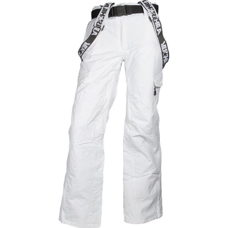 b5c293b513cd Dámske snowboardové nohavice AUTHORITY-PARMONA white -
