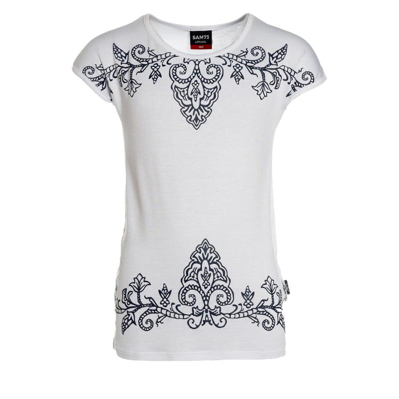 Dievčenské tričko s krátkym rukávom SAM73-Dievčenské tričko s krátkým rukávom-525-000 -
