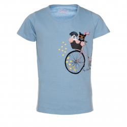 Dievčenské tričko s krátkym rukávom SAM73-TOMBEO Detské tričko-662
