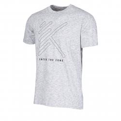 Pánske tréningové tričko s krátkym rukáv ANTA-SS Tee-2-q119-MEN-Grey dark